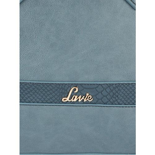 Lavie Teal Blue Solid Shoulder Bag