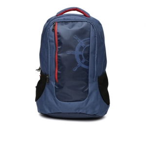 Tommy Hilfiger Men Navy Bikers Collection Backpack