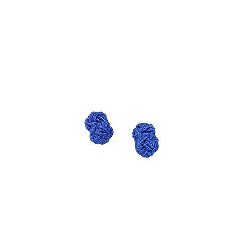 Tossido Blue Micro Fiber Cuff-Link