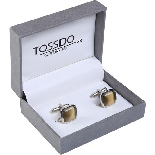 Tossido Metal Cufflink(Brown)