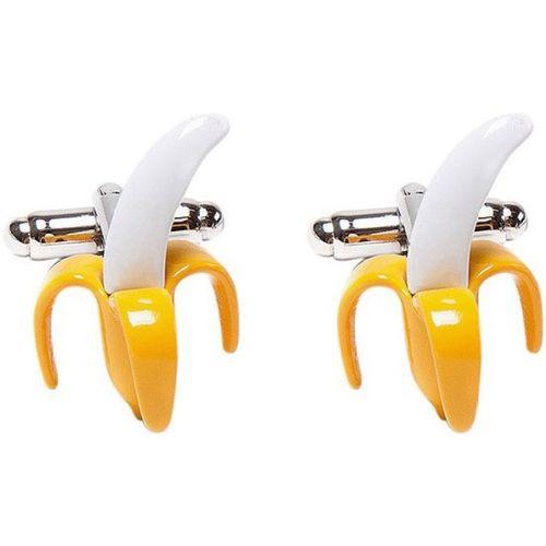 Tossido Metal Cufflink(Yellow)