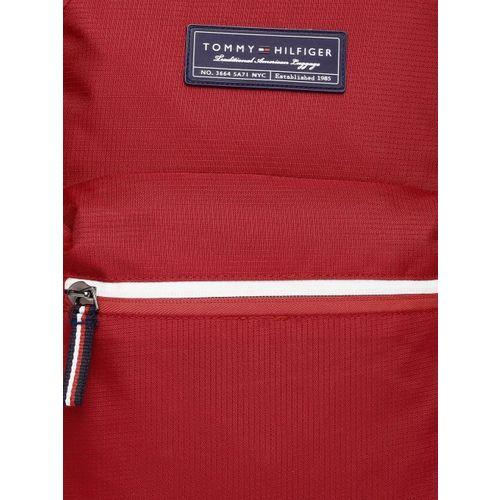 Tommy Hilfiger Unisex Red Brand Logo Laptop Backpack
