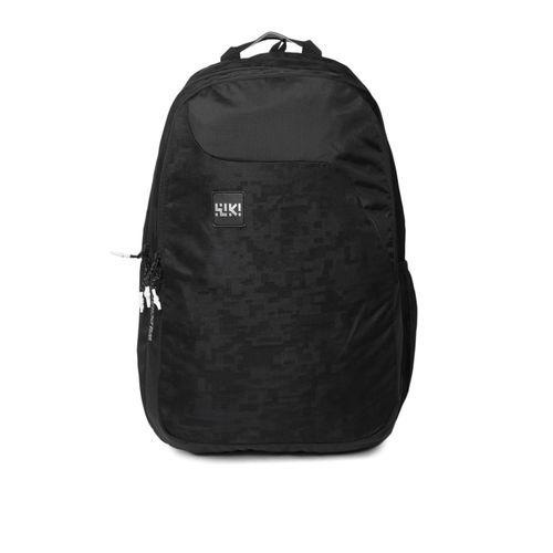 Wildcraft WIKI 1 Jacquard 29.5 L Backpack(Black)