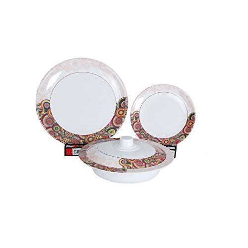 Eagleware Servel Melamine dinner set pack of 40