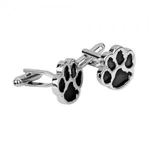 Generic Imported 1 Pair Men's Dog Animal Paw Cufflinks Shirt Cuff Links Wedding Gift