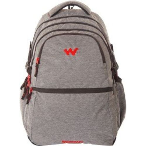 Wildcraft Black Casual Backpack (Melange 8 : Wildcraft : Black)