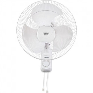 Eveready WFH04 3 Blade Wall Fan(White, Pack of 1)