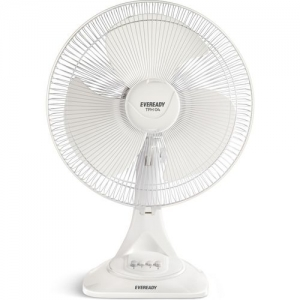 Eveready TFH04 3 Blade Table Fan(white, Pack of 1)