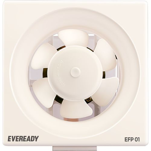 Eveready EFP 01 6 Blade Exhaust Fan(White, Pack of 1)