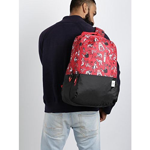 Wildcraft 29 Ltrs Red Casual Backpack (11648-Red)