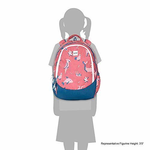 Wildcraft Wiki Junior 1 Pixel Backpack Red (11999 Red)