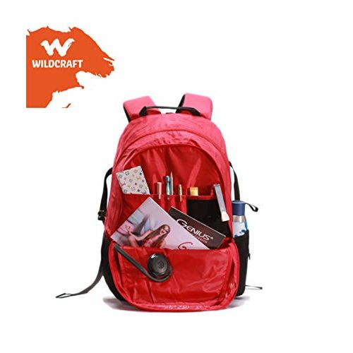 Wildcraft Polyester 45 liters Multi-Colour Casual Backpack (11122) (RED)
