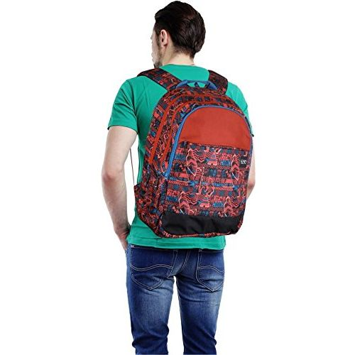 Wildcraft 37 Ltrs Red Casual Backpack (11662-Red)