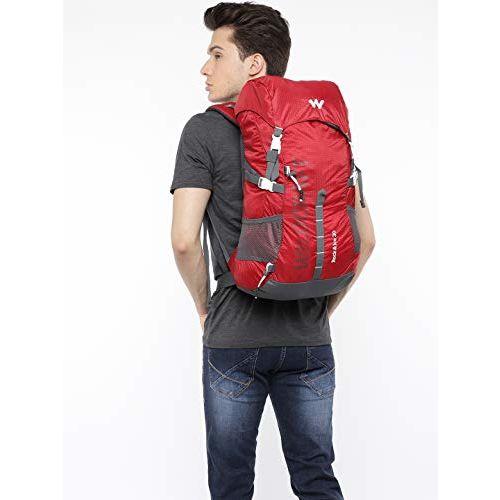 Wildcraft Rucksack for Trekking Backpack Rock & Ice 30 - Red