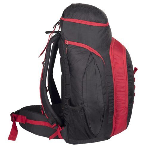 Wildcraft Odyssey 45 Nylon Red Hiking Backpacks and Rucksacks(8903338013648)