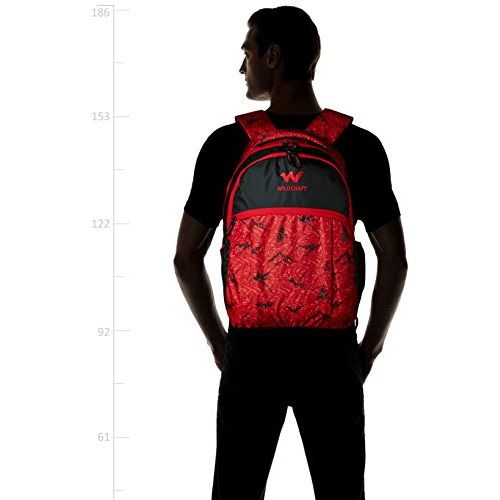 Wildcraft Red Casual Backpack (Nature 5 : Wildcraft : Red)