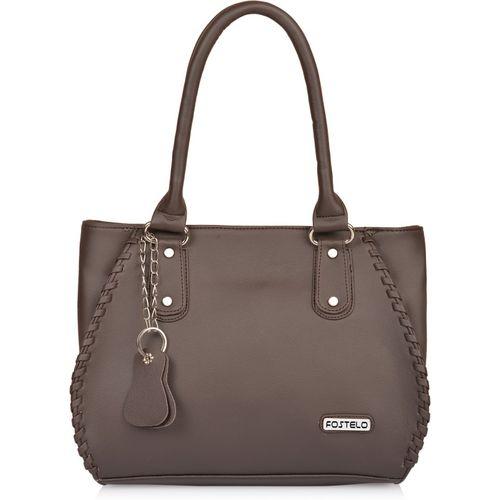 Fostelo Brown PU Shoulder Bag