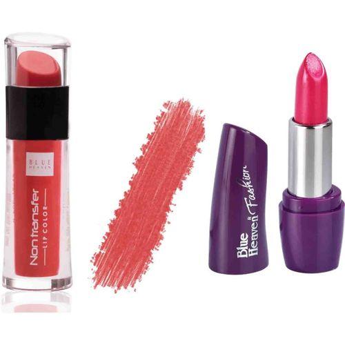 blue Heaven Cosmetics Lip Gloss Liquid Brick Red(brick red)