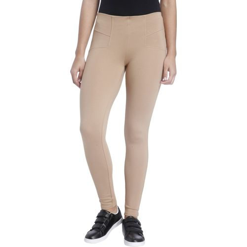 Only Brown Jegging(Solid)