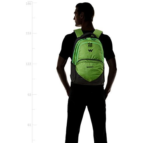 Wildcraft Polyester 30 ltrs Green Laptop Backpack (8903338054566)
