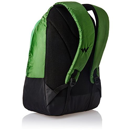 Wildcraft Turnaround Polyester 30 Ltrs Green Laptop Bag (8903338054641)