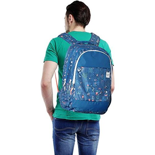 Wildcraft 37 Ltrs Blue Casual Backpack (11660-Blue)