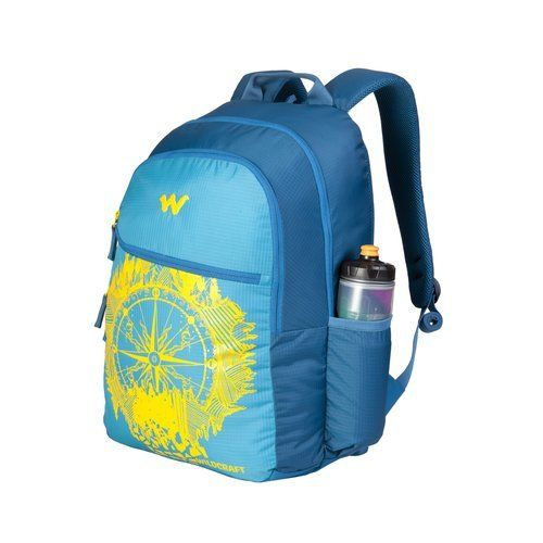 Wildcraft 35 Ltrs Trvl _Blu Casual Backpack (11619-Trvl _Blu)