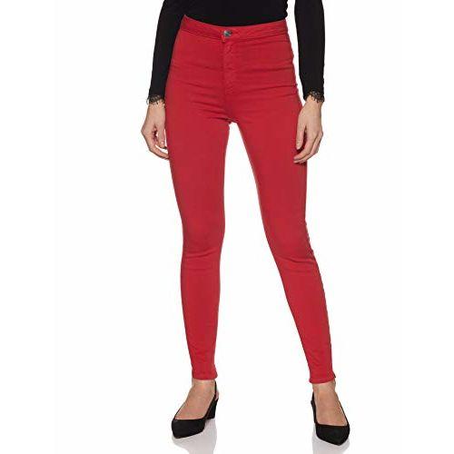 Marks & Spencer Women's Jeggings Jeans (8605_Bright Red_10)