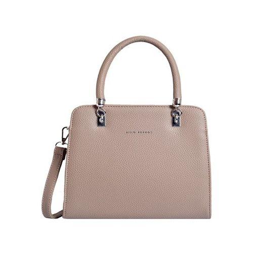 Lino Perros Beige Solid Handbag