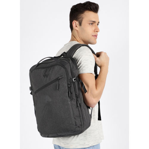 Wildcraft Charcoal Spruce Solid Backpack