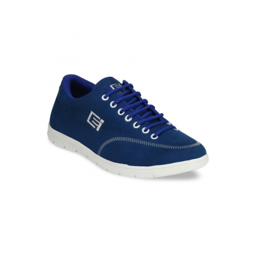 Eego Italy Men Blue Solid Sneakers