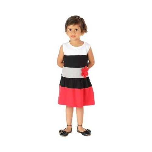 Lil Orchids Girl s A line Dress