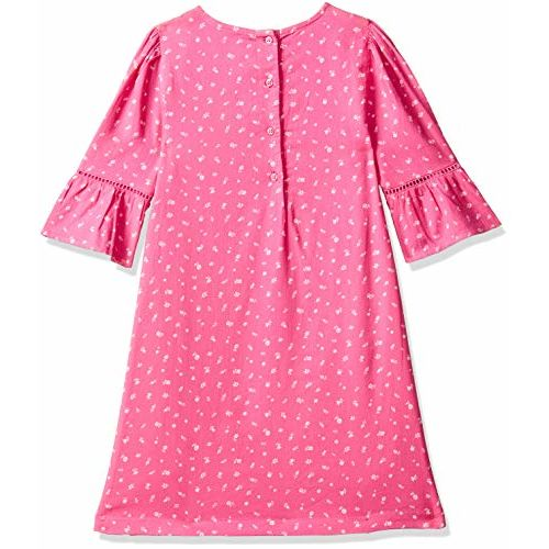 Mothercare Girls' A-Line Cotton Knee Long Dress