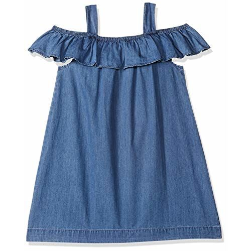 Mothercare Girls' A-Line Cotton Knee Long Dress