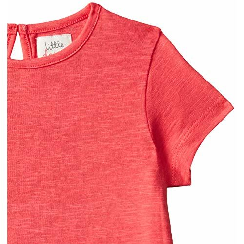 Mothercare Girls' Dress (SB787-1_Coral_3-4 Y)