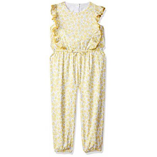 Mothercare Girls' Regular Fit Cotton Jumpsuit