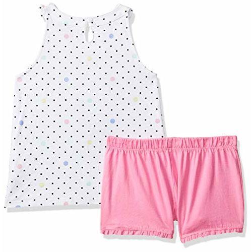 Mothercare Girls' Regular Fit Cotton Pyjama Top