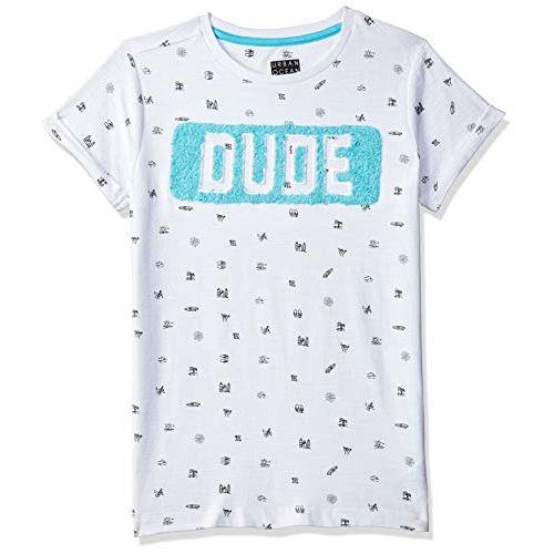 Mothercare Boys' Polka Dot Regular Fit T-Shirt