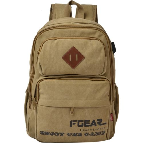 F Gear Jagger 27 L Laptop Backpack(Khaki)