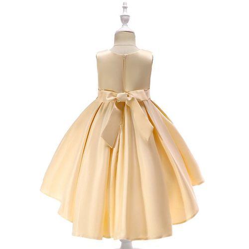 Awabox Embroidered Sleeveless Dress - Beige