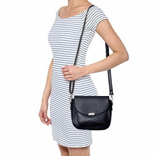 Lino Perros Women's Sling Bag (Black)