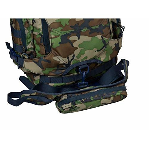 F Gear Military Ambush Woodland A Camo 32 Ltrs Woodland A Camo Rucksack (2888)