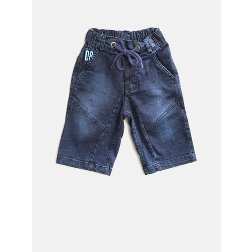 612 League Three Fourth For Boys(Blue Pack of 1)