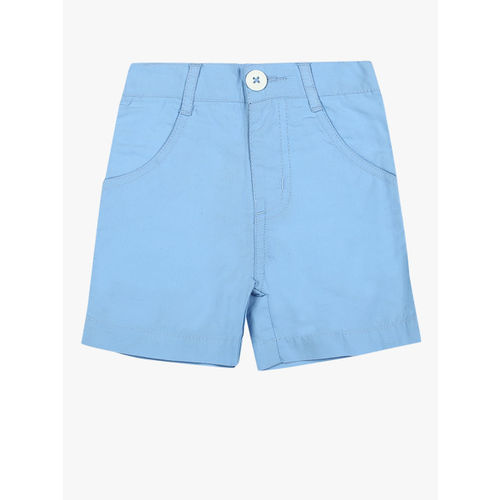 612 league Blue Solid Shorts