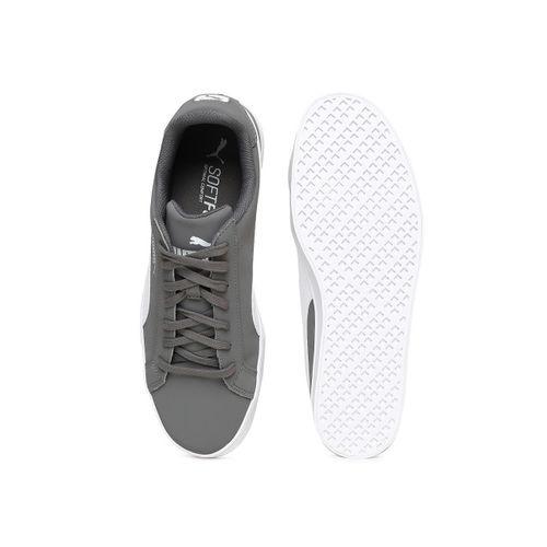 newest 6948f 2acd3 Buy Puma Unisex Grey Smash Vulc Sneakers online | Looksgud.in