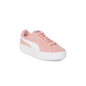 f027a62dce3 Buy Puma Women Purple Smash Platform Suede Sneakers online | Looksgud.in