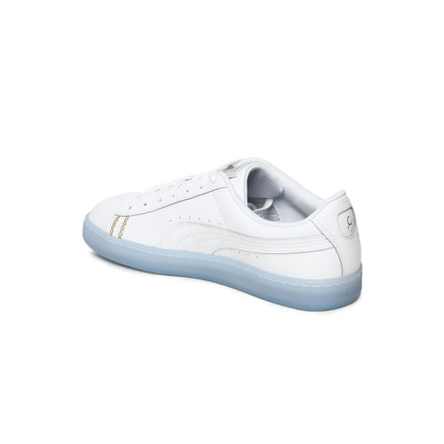 size 40 522d5 b5213 Buy Puma Unisex White Basket Classic one8 Sneakers online ...