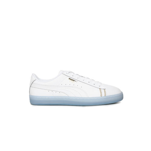size 40 f594e 6329d Buy Puma Unisex White Basket Classic one8 Sneakers online ...