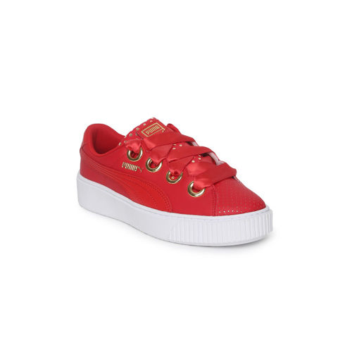 c6dcbc1c Buy Puma Women Red Platform Kiss Ath Lux Sneakers online ...