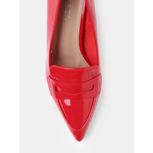 CORSICA Women Red Solid Pumps